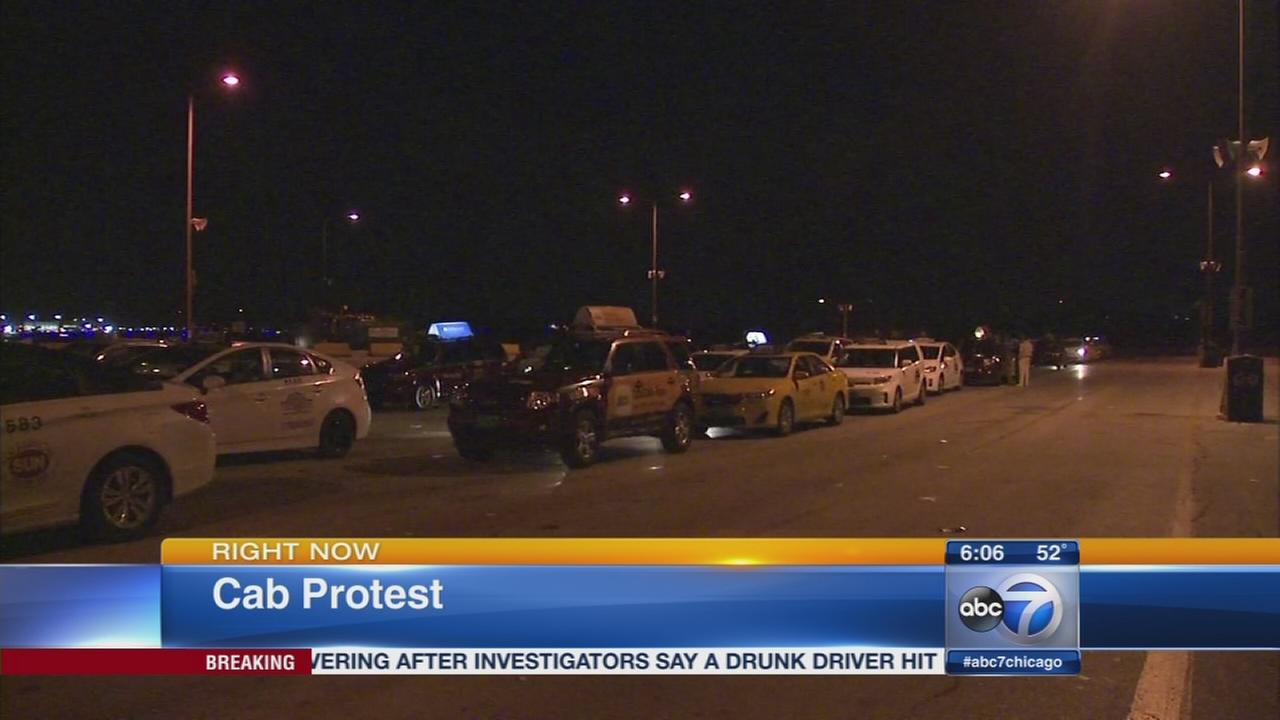 Chicago cab drivers on strike Thursday