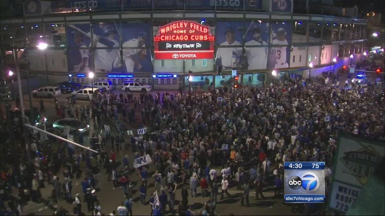 Cubs celebrations continue in Wrigleyville
