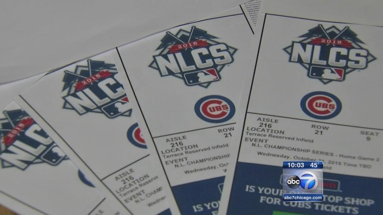 Demand for Cubs tickets high