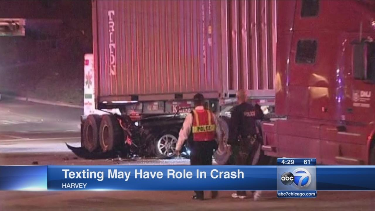 1 dead after crash in Harvey