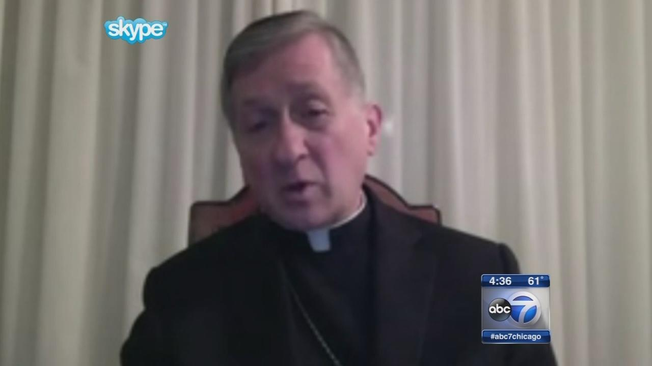 Archbishop Cupich speaks from Rome as synod wraps up