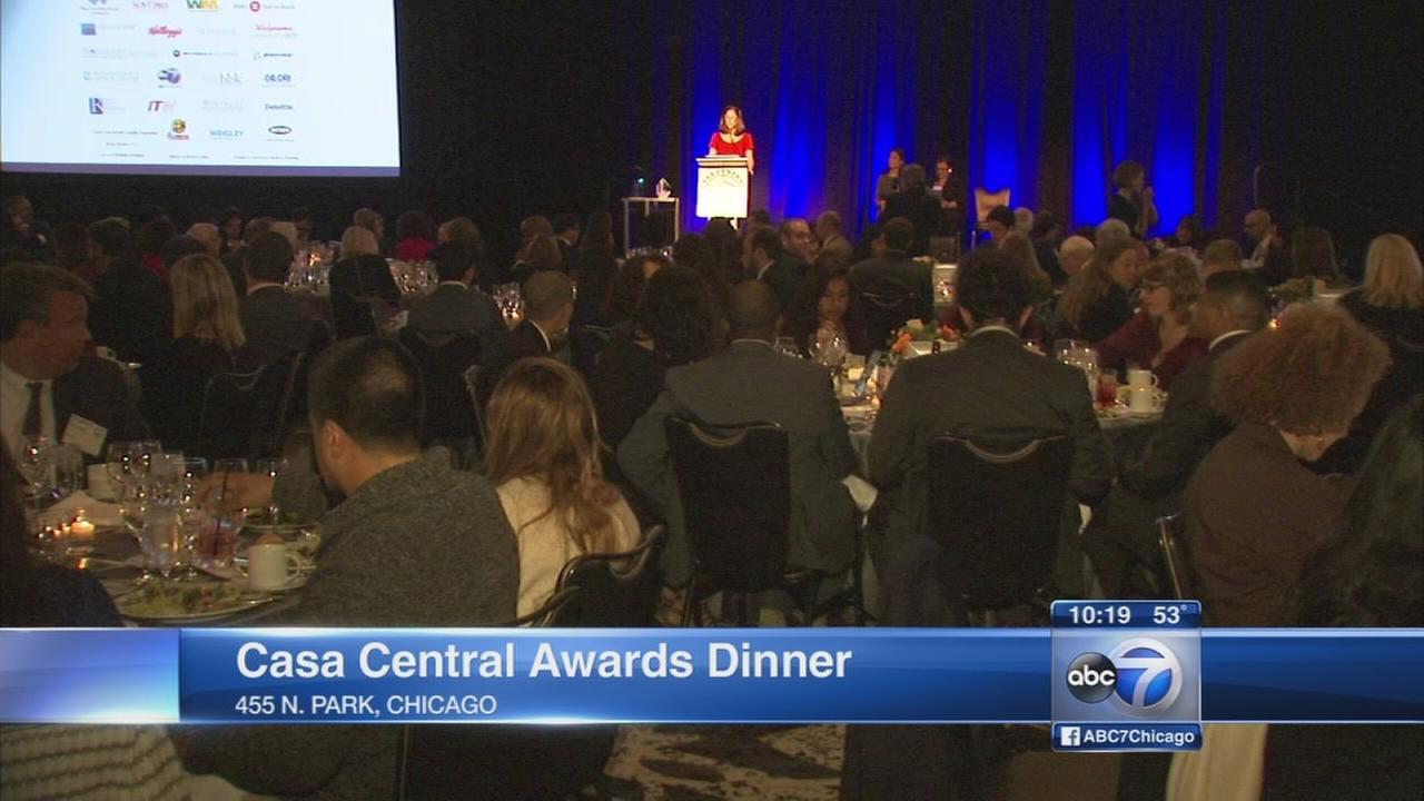 Casa Central holds annual awards dinner