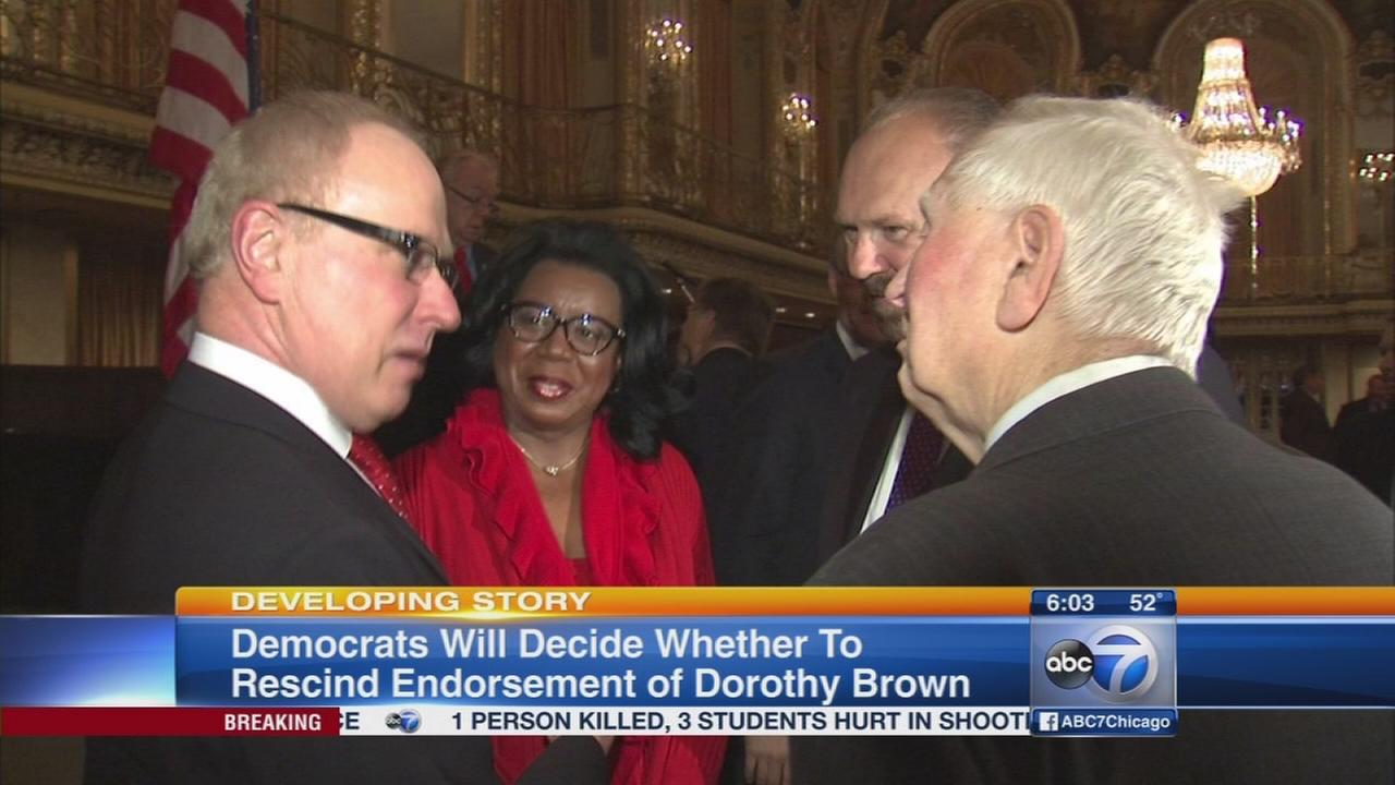 Cook Co. Dems hold special meeting