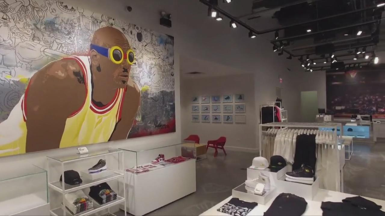baskets pour pas cher 74353 61130 Michael Jordan store to open in Chicago - Durham news ...