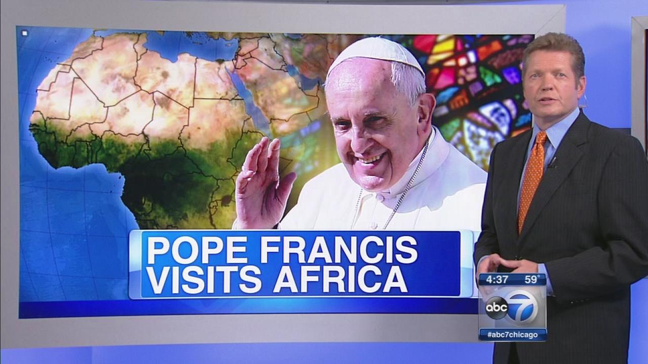 Pope Francis headed to Africa