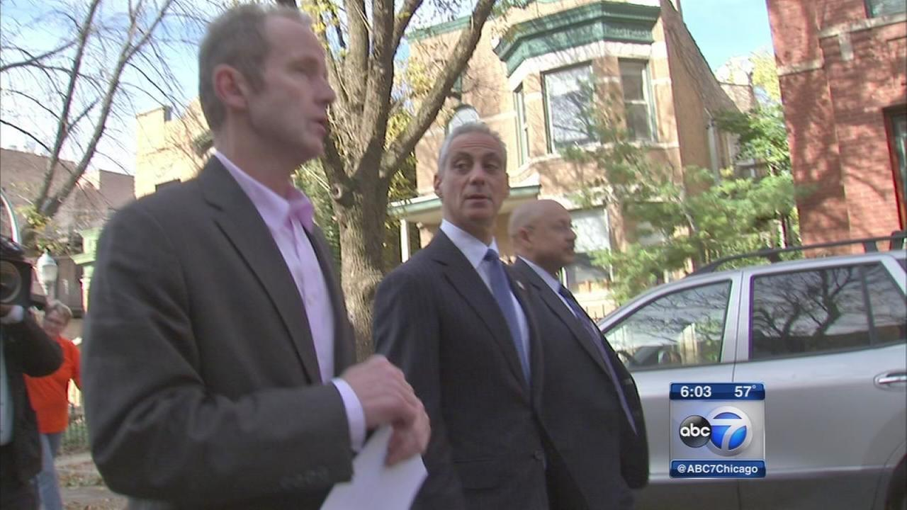 Mayor shows off services ahead of budget vote