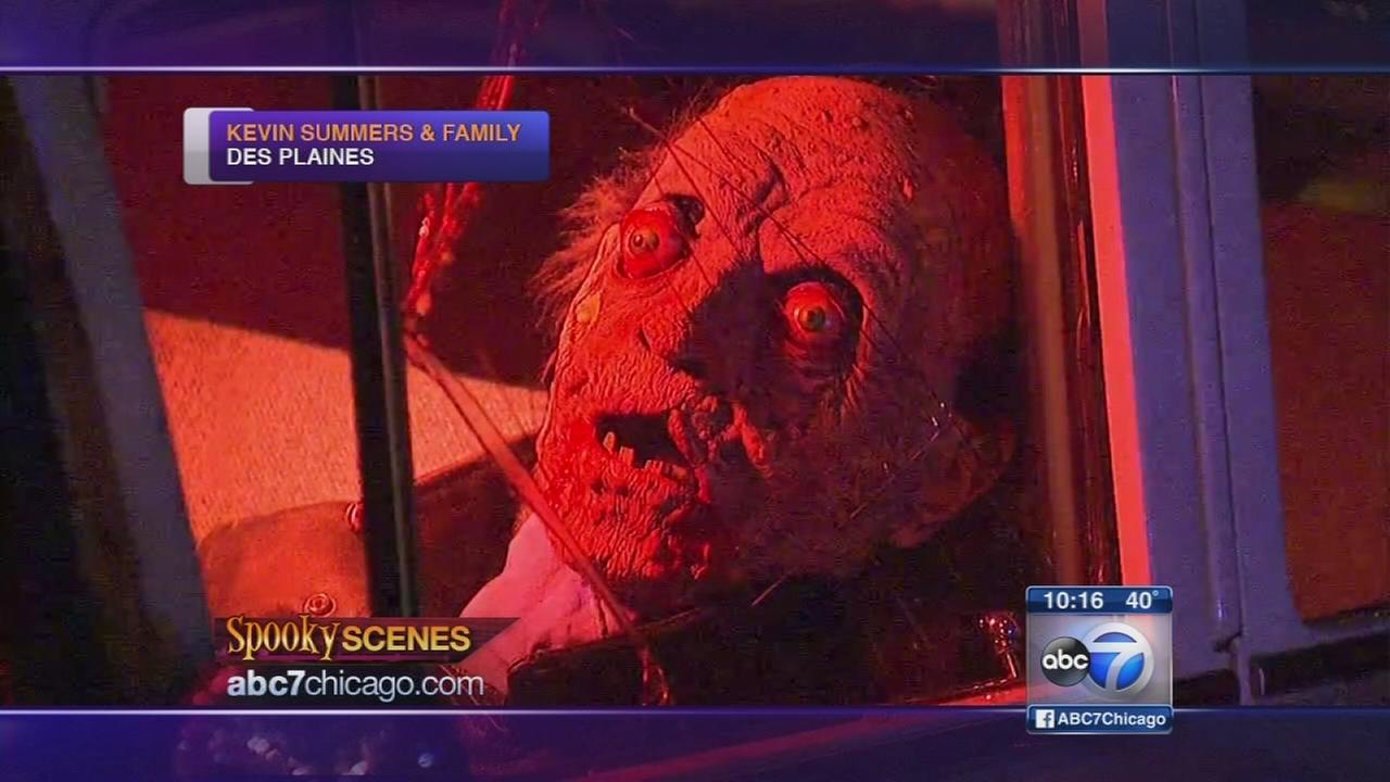 Spooky Scenes: Summers home in Des Plaines