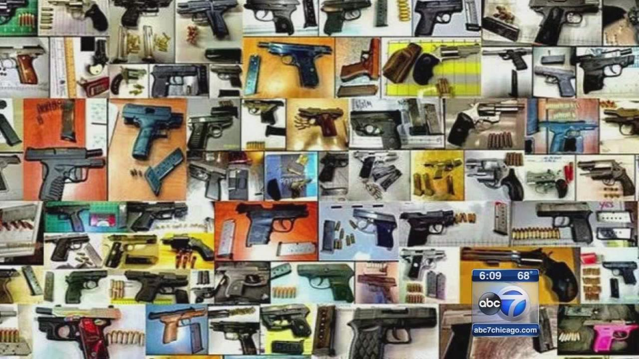 TSA finds record number of guns in carry-on bags