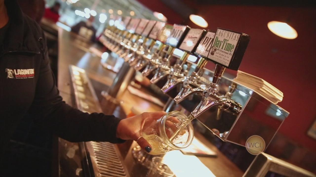 Lagunitas brewery tour