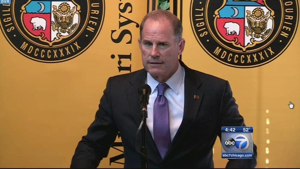 Mizzou president resigns amid racial controversy