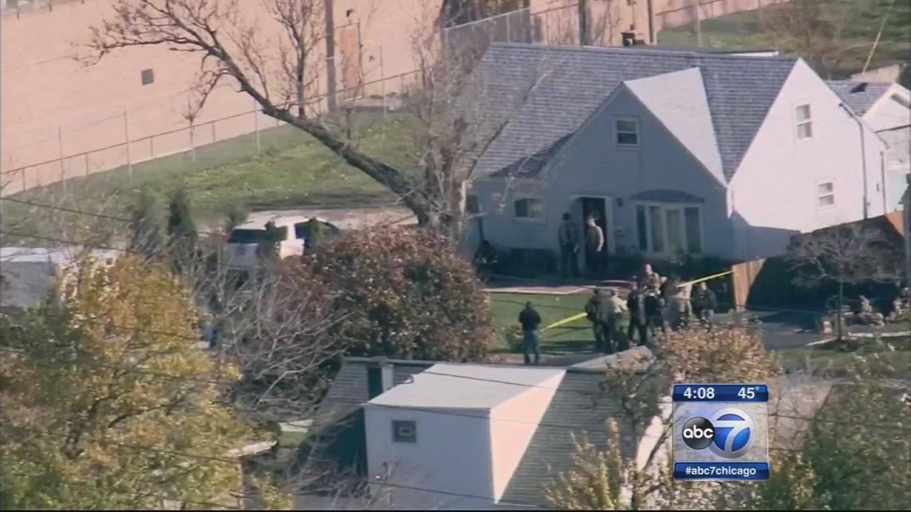 Man barricaded in elderly womans home