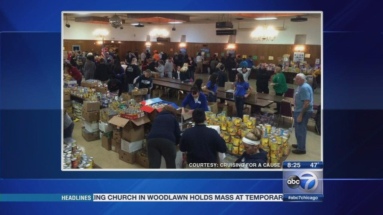 Food drive for veterans returns to Bridgeview