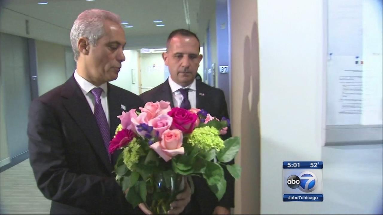 Emanuel addresses Chicago security