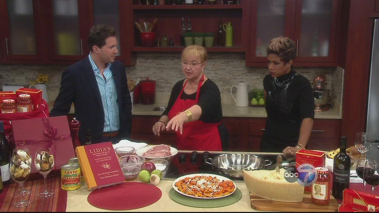 Lidia Bastianich?s shares cooking tips