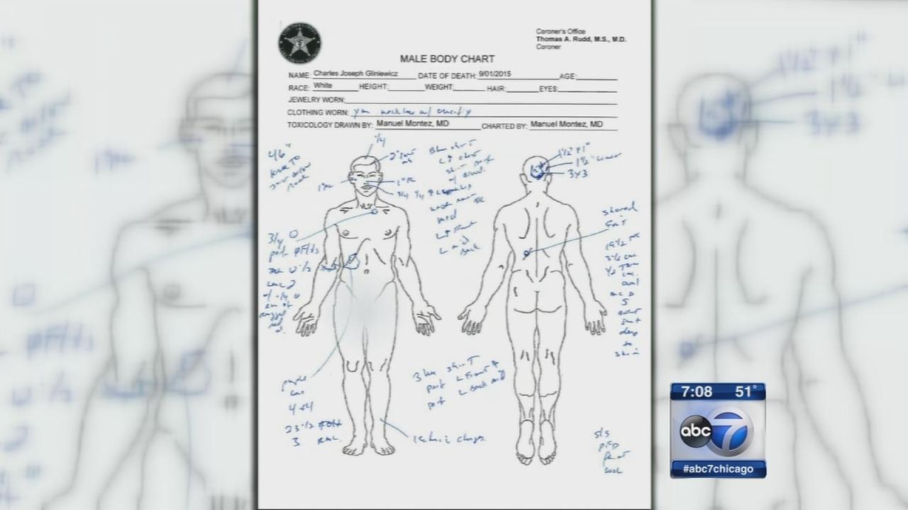 Lt. Gliniewicz autopsy report