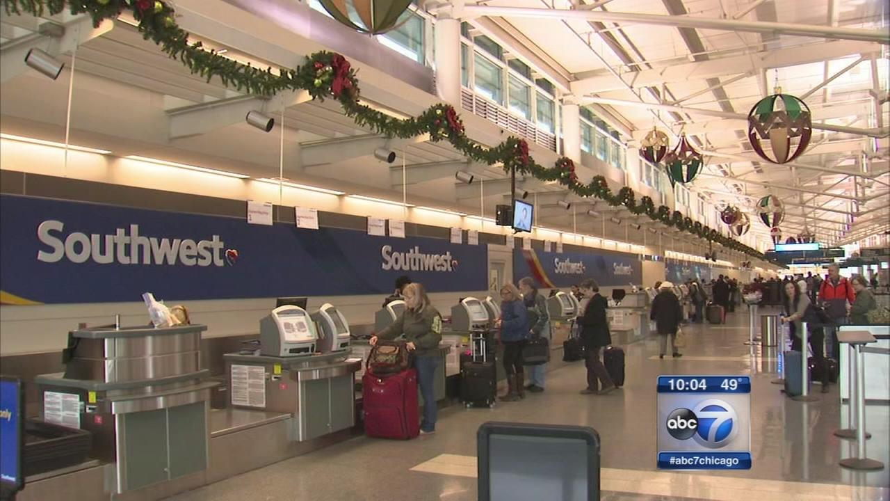 Flight from Midway to Houston delayed