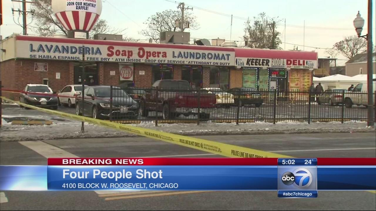 Four shot in North Lawndale