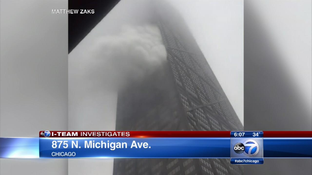Residents say the fire alarm system didnt work and allege there are code violations at the John Hancock Building in Chicago.