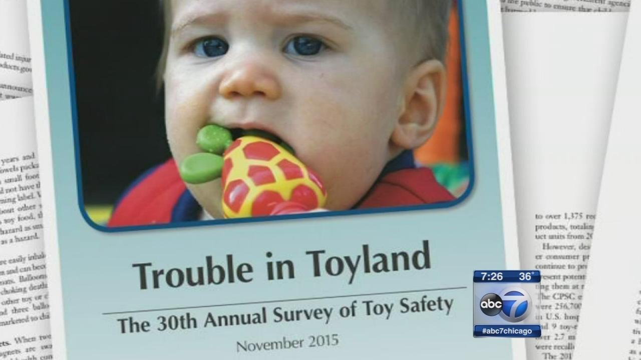 Annual ?Trouble in Toyland? report released