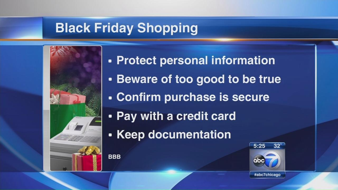 BBB warning about pitfalls of Black Friday, Cyber Monday