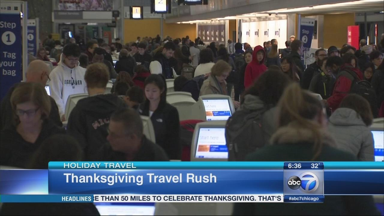 More than 2M expected at Chicago airports