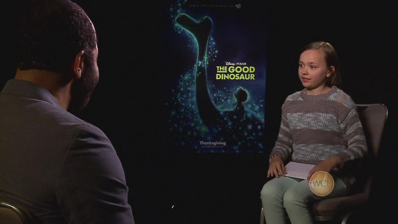 Ada Grey interviews stars from The Good Dinosaur