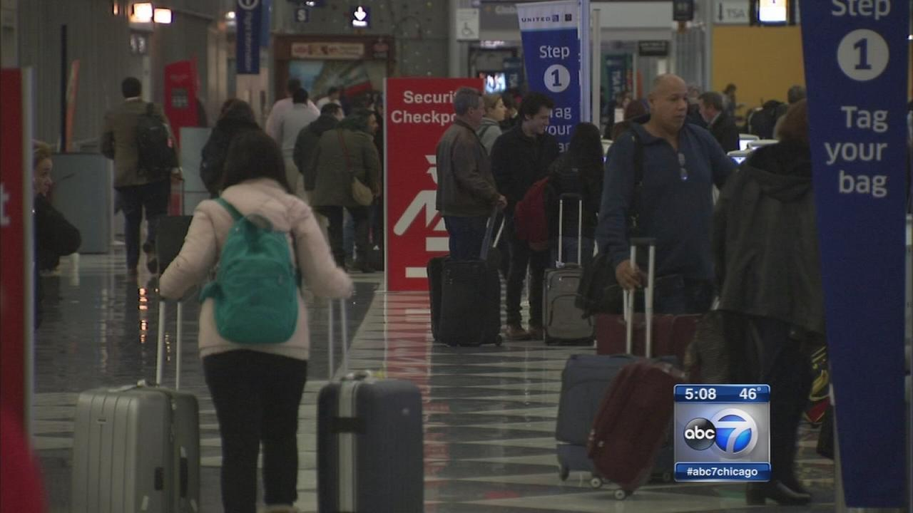 2M travelers expected at Chicago airports