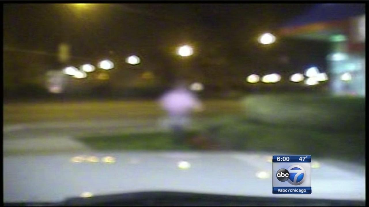 New dash cam video shows Laquan Mc Donald pursuit