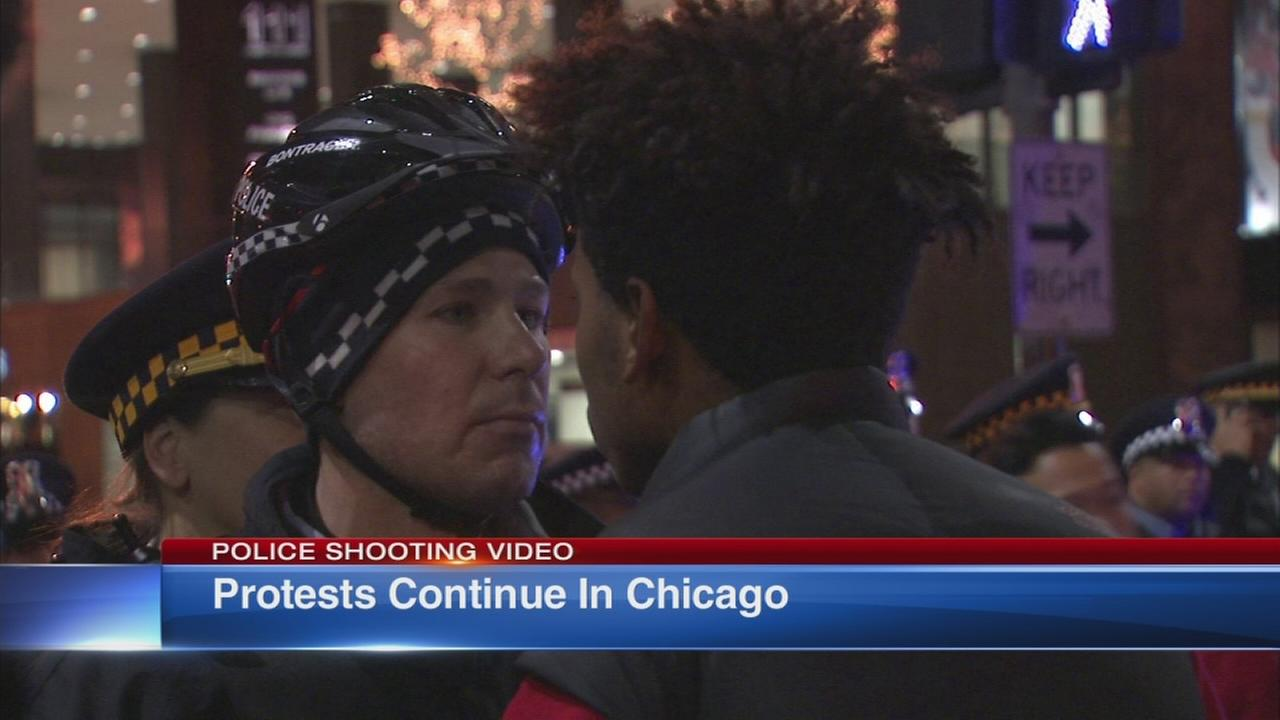 Protests continue in Chicago