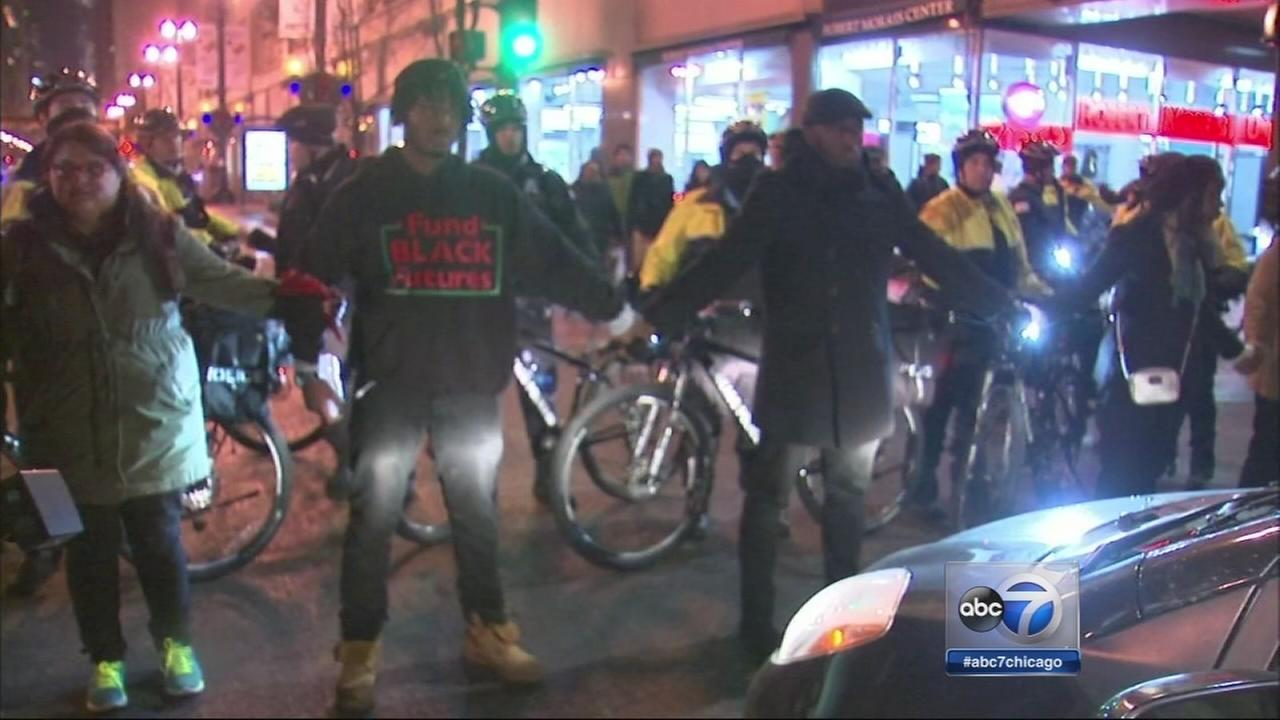 Protesters aim to disrupt holiday shopping