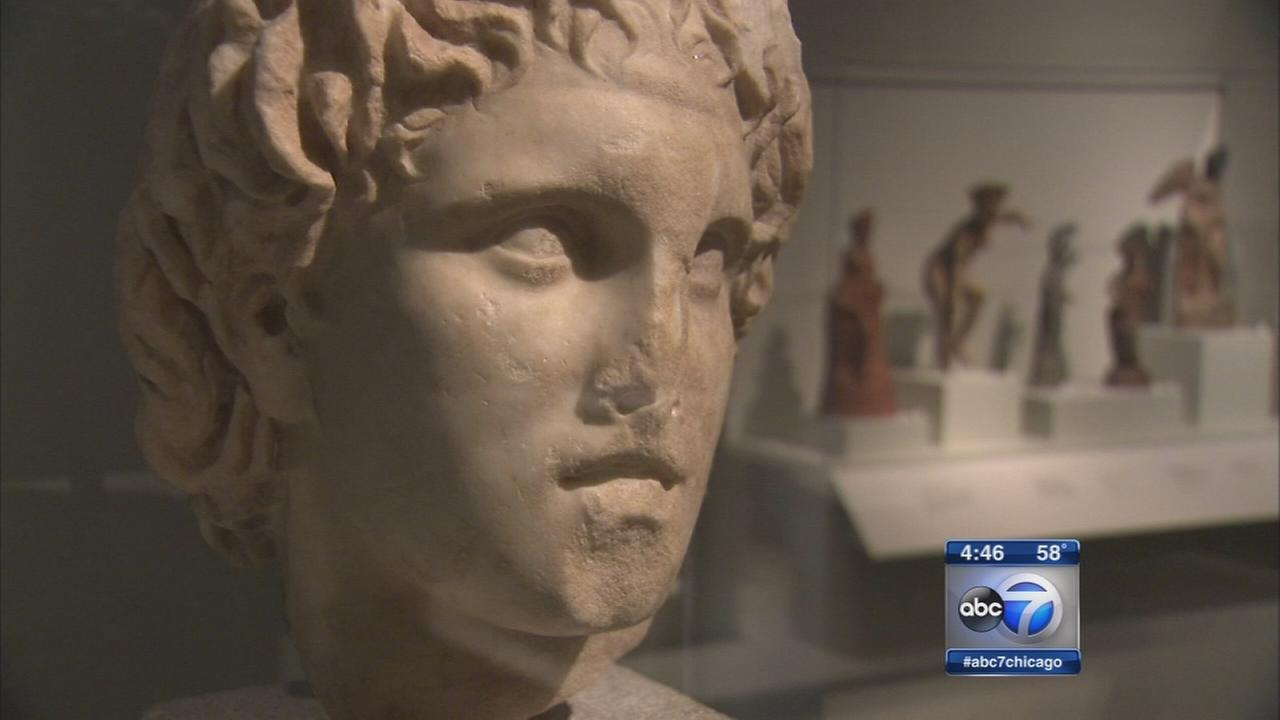 The Greeks exhibit opens at Field Museum