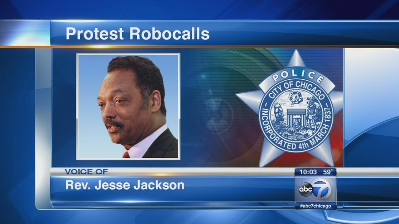 Robo call from Rev. Jesse Jackson