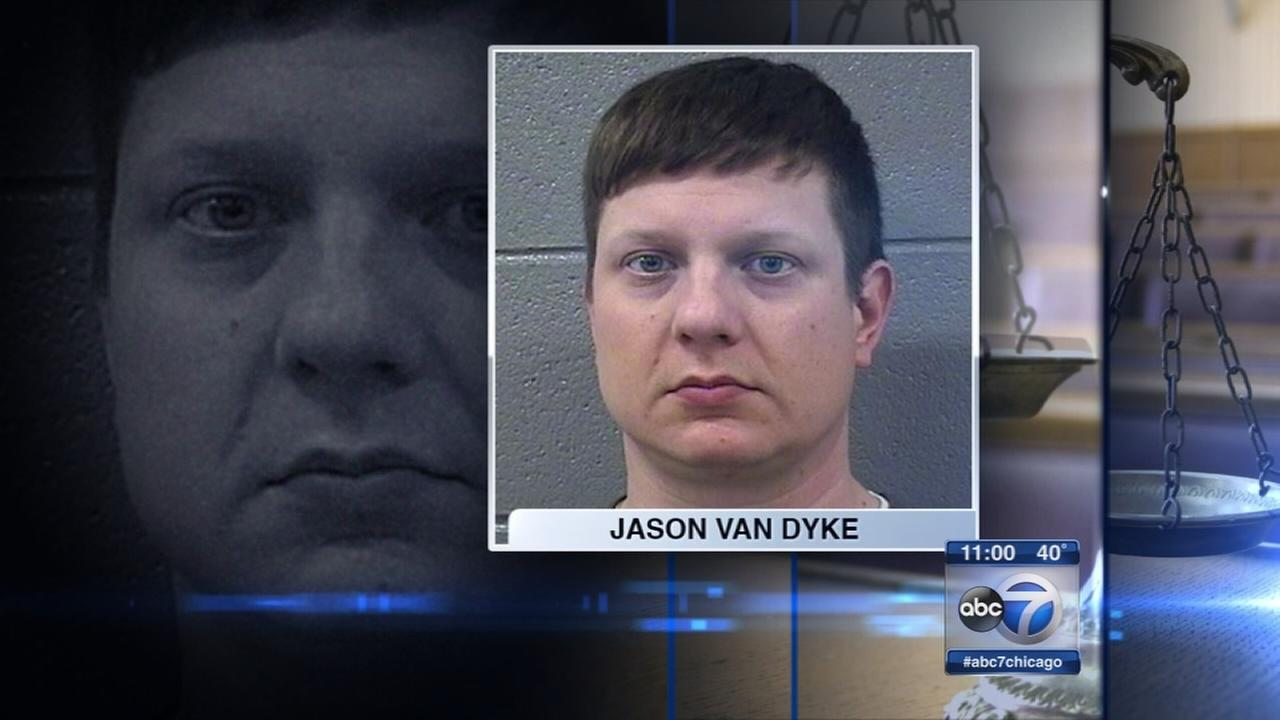Jason Van Dyke in court