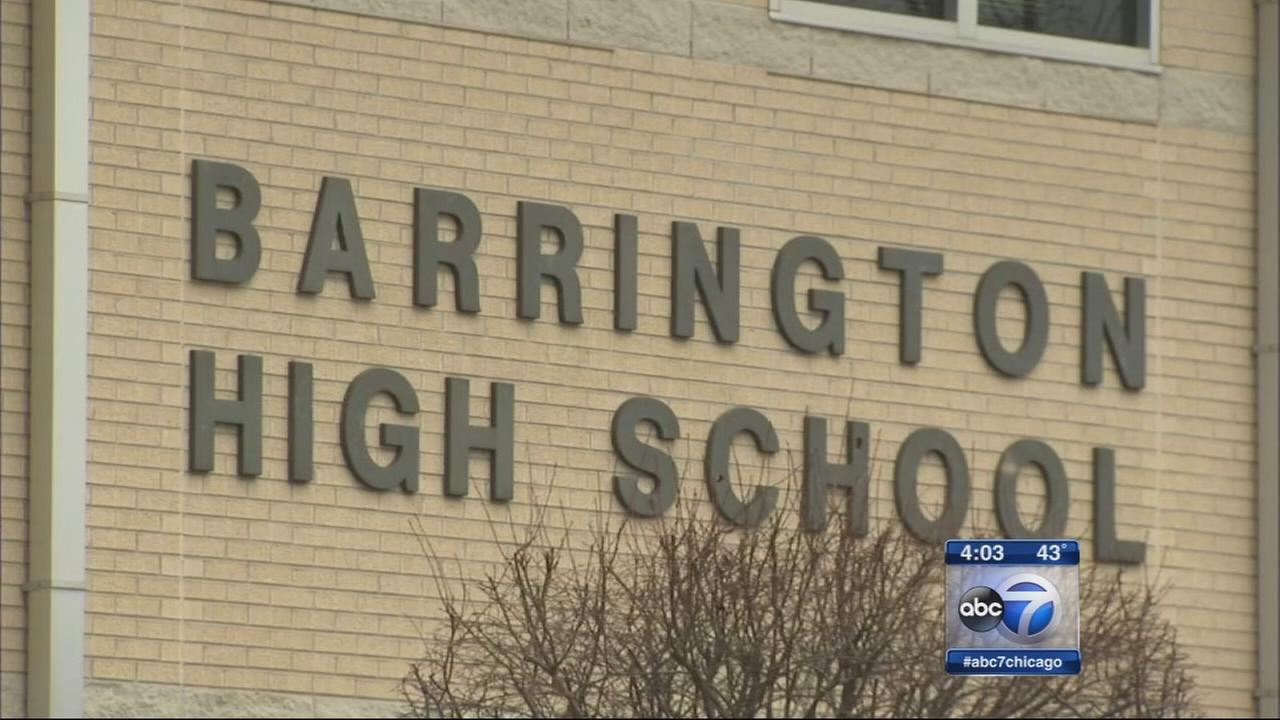 Barrington HS student arrested