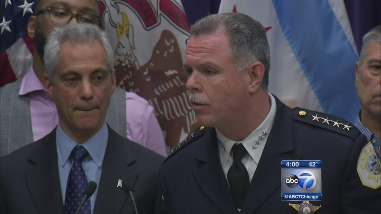 McCarthy out as Chicagos top cop