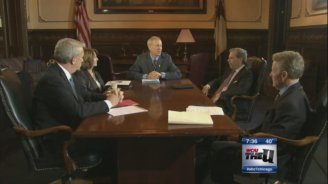 Legislators meet with governor over budget