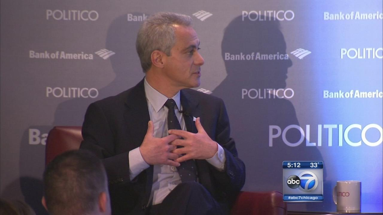 Mayor Emanuel says he will not resign