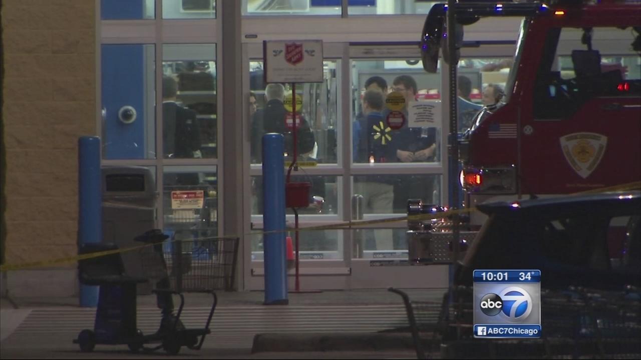 Suspect sought in Darien Walmart shooting