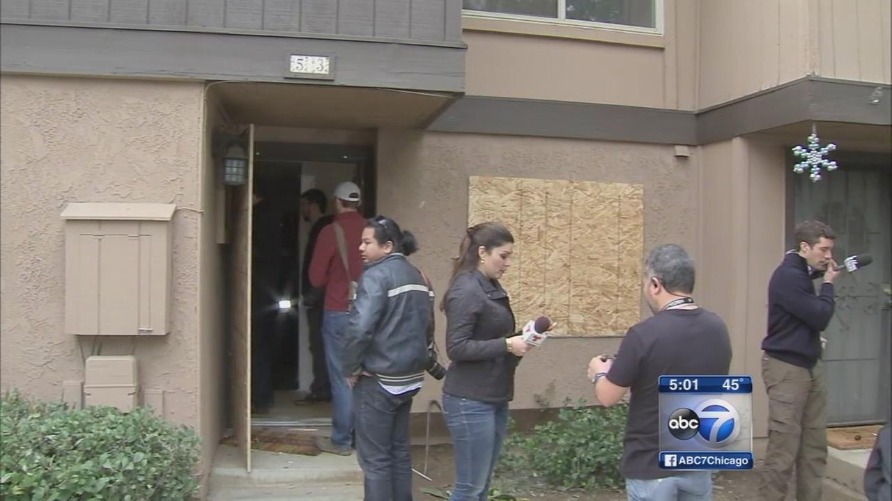 Look inside home of shooting suspects
