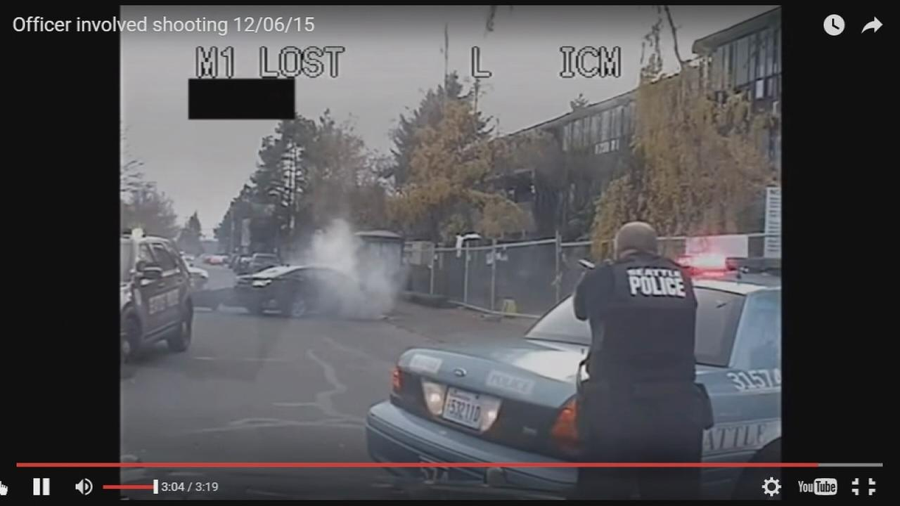 Seattle police release video of deadly shootout