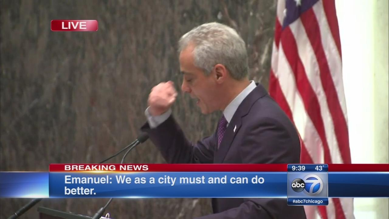 No 2nd class citizen in Chicago, mayor says