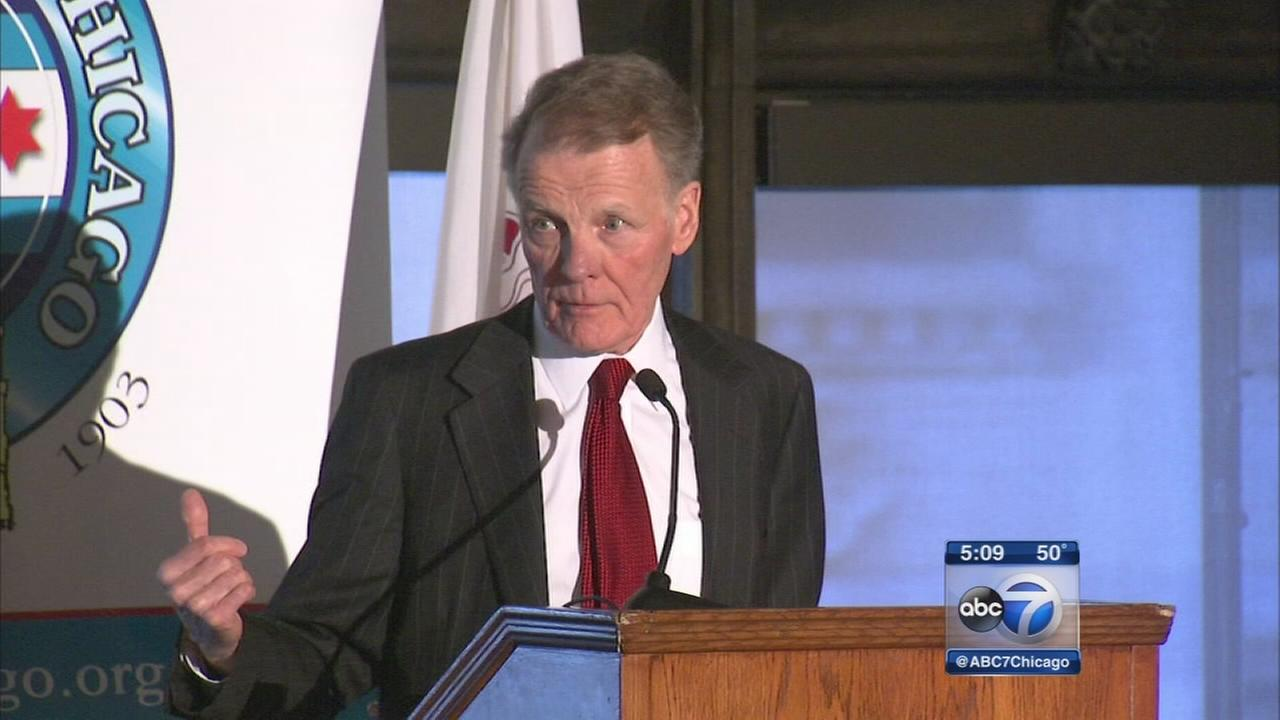 Madigan speaks at City Club of Chicago