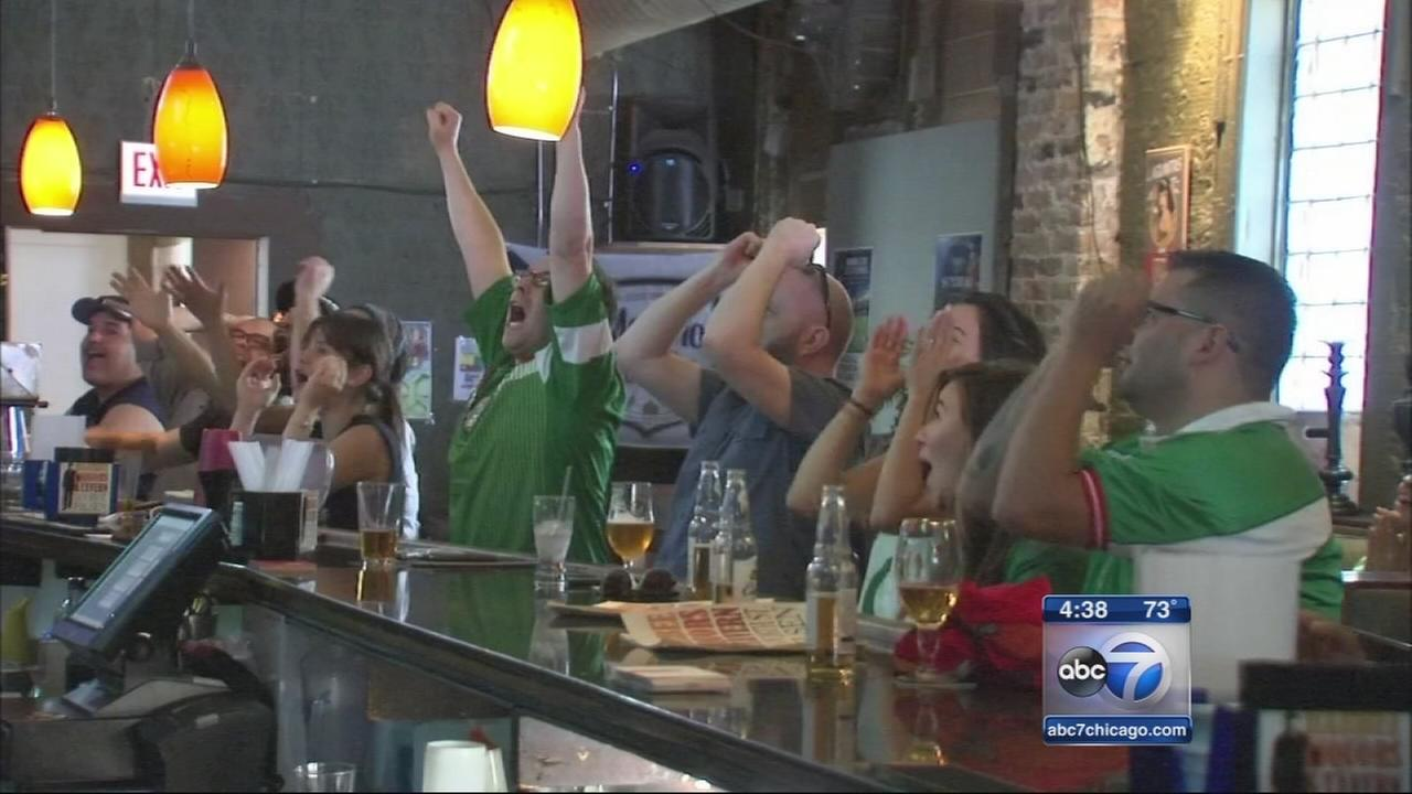 Chicago World Cup fans gather to cheer on teams
