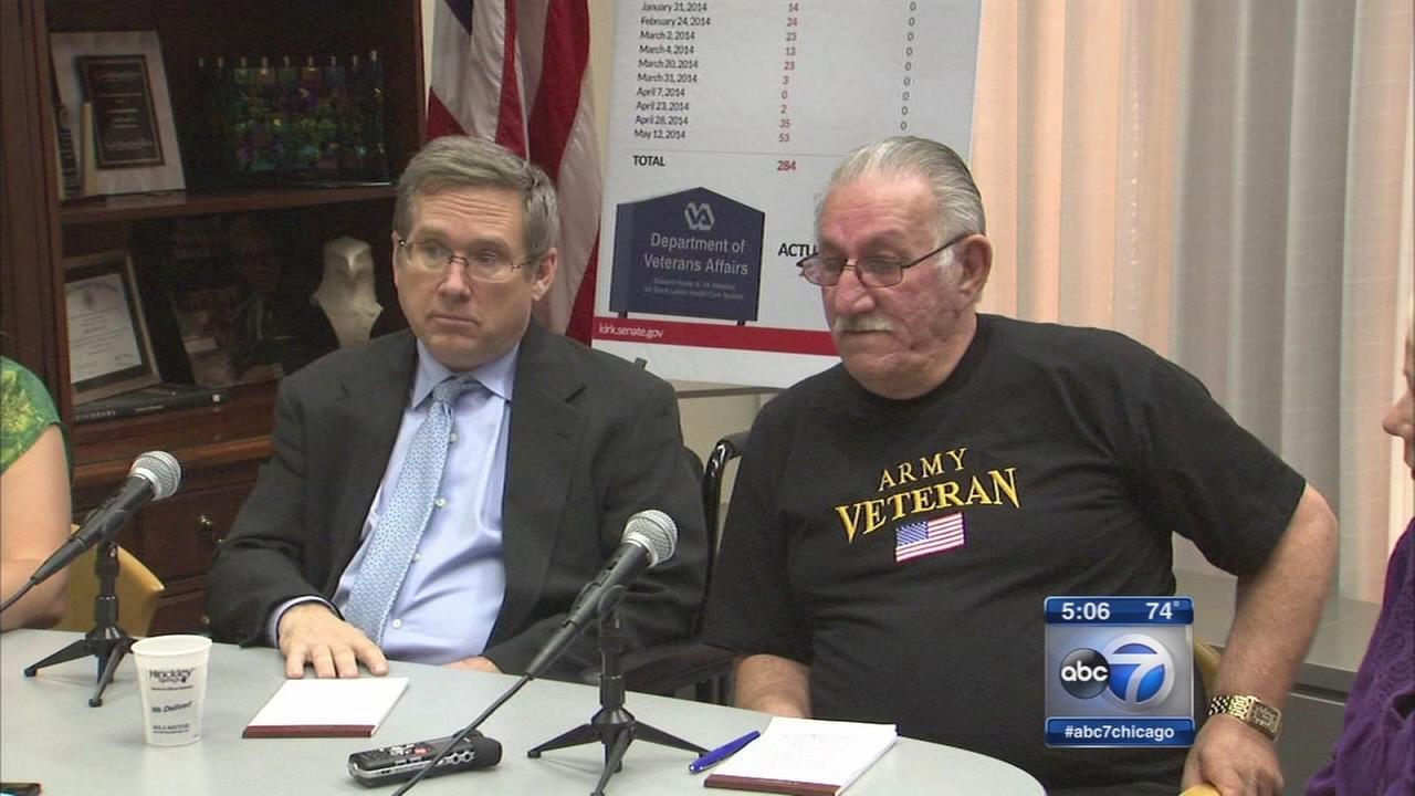 Sen. Kirk demands state of emergency for VA