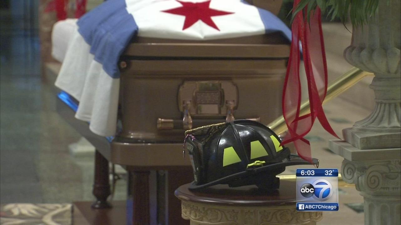 Chicago firefighter laid to rest