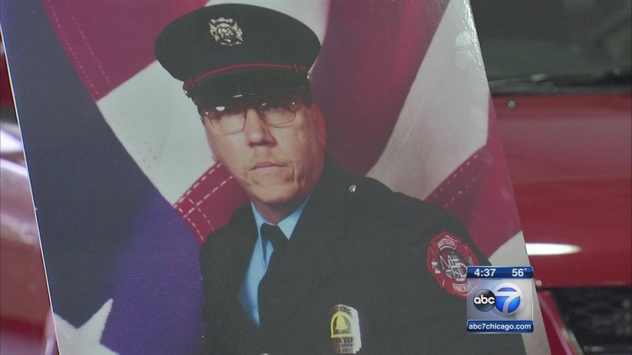 Van given to family of fallen firefighter