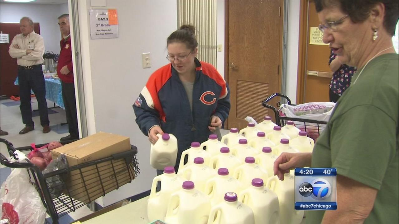 Unique partnership bringing milk to families in need