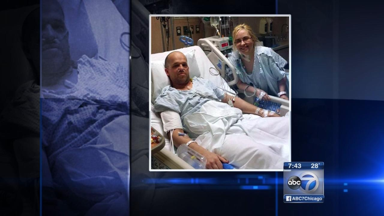 Life-saving liver donation leads to love