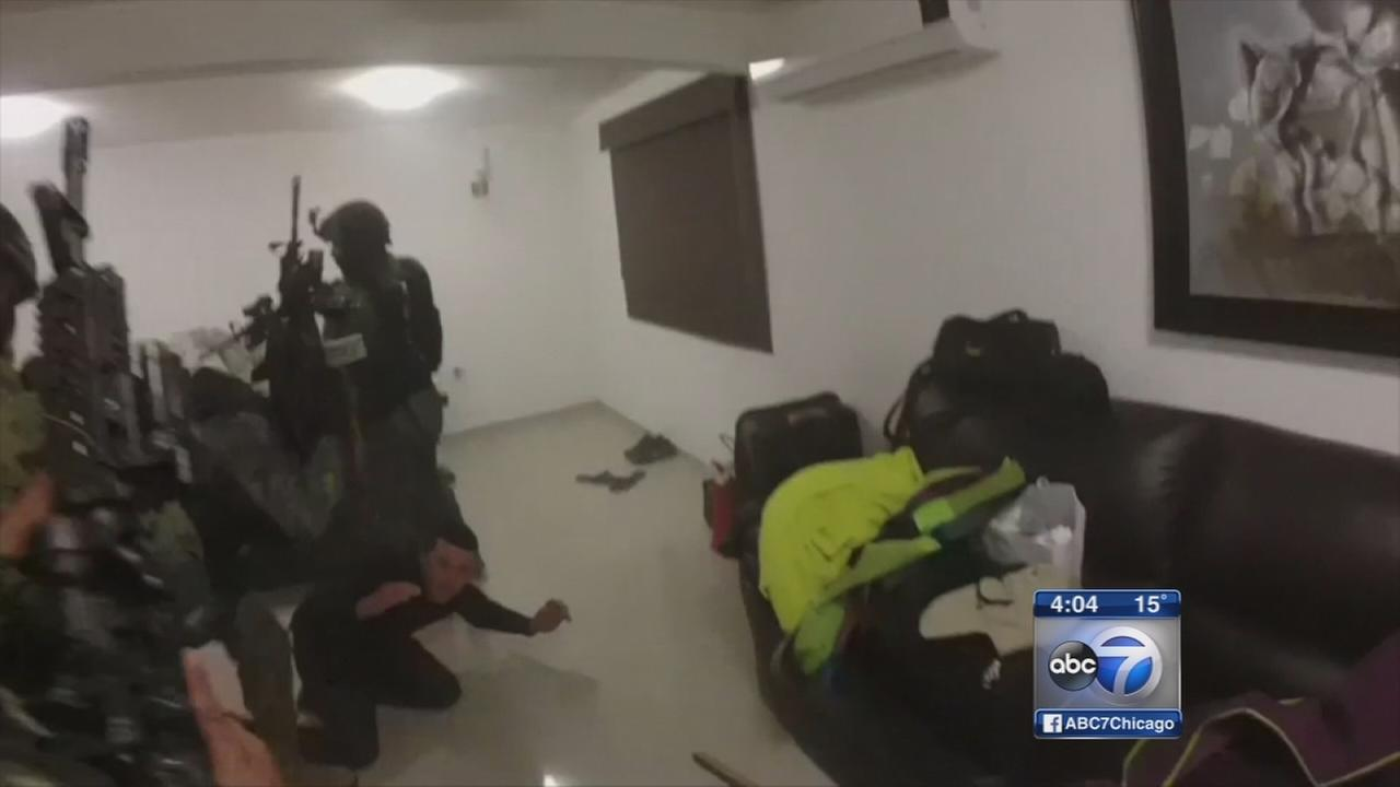 El Chapo raid video released