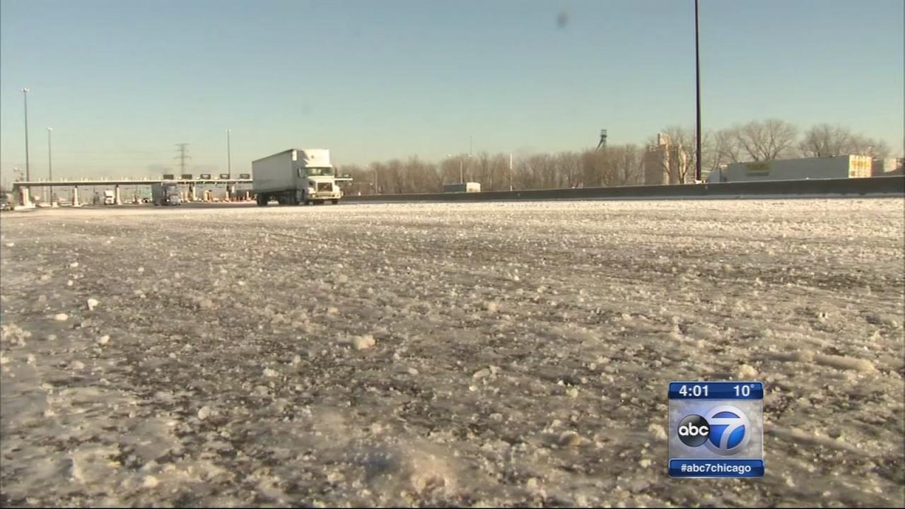 Bitter cold and blowing snow impact commute